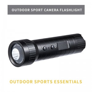 New 1080P mini sport camera helmet Hd 120 wide Angle waterproof flashlight loop recording sport camera