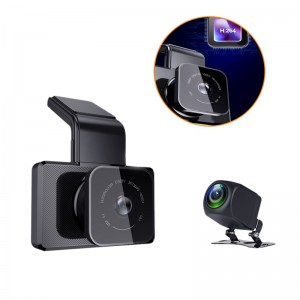 Mstar 3.0 inch wifi car video recorder gps g-sensor dual camera car dvr fhd 1080P car cam