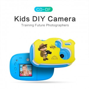 720P cam photo shooting 1.44 inch 2.0MP portable digital video camera cartoon kids funny