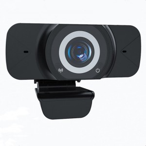 HD 1080P USB Webcam With Microphone Sound-absorbing Microphone Video Conference For Computer Camera