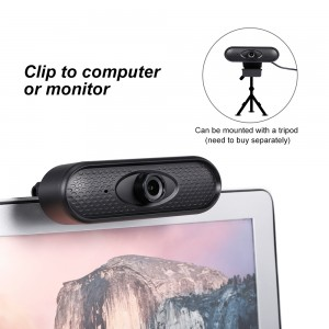 USB Webcam HD 1080P Web Camera High Definition Video Chat Recording Built-in Microphone USB Web Cam for home pc Laptop