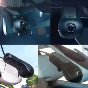 FHD 1080p 170 kraadi ülilainurkobjektiiv universaalne peidetud wifi auto kaamera