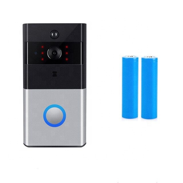 HD 720P waterproof PIR motion detection 2.4G wifi ring video doorbell with night vision