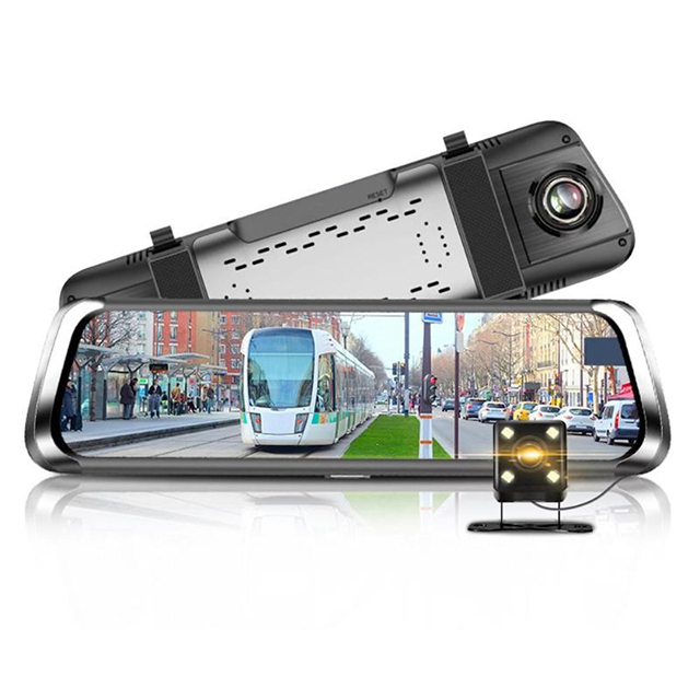 10 inch touch screen 4G android blue tooth car dash camera wifi gps 1080P full hd rear view bluetooth dash cam