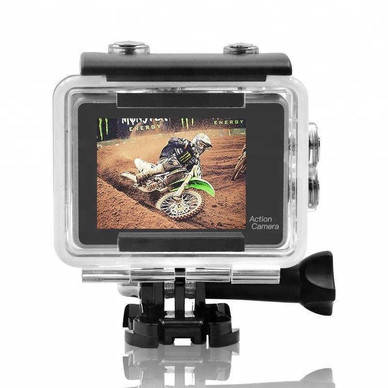 Factory Cheap Hot 360 Sport Camera - OEM wholesale 4k underwater action camera wifi waterproof mini full hd 1080p sport video cam – Yikoo