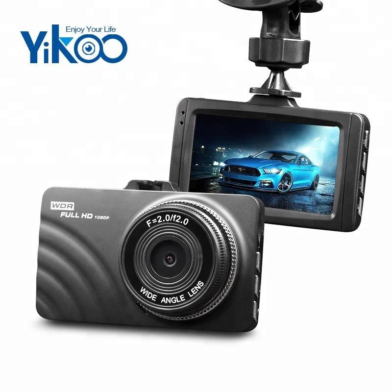 140D 3,0 tolline ekraan G-sensor loop salvesti dual läätse kriips kaamera autodele