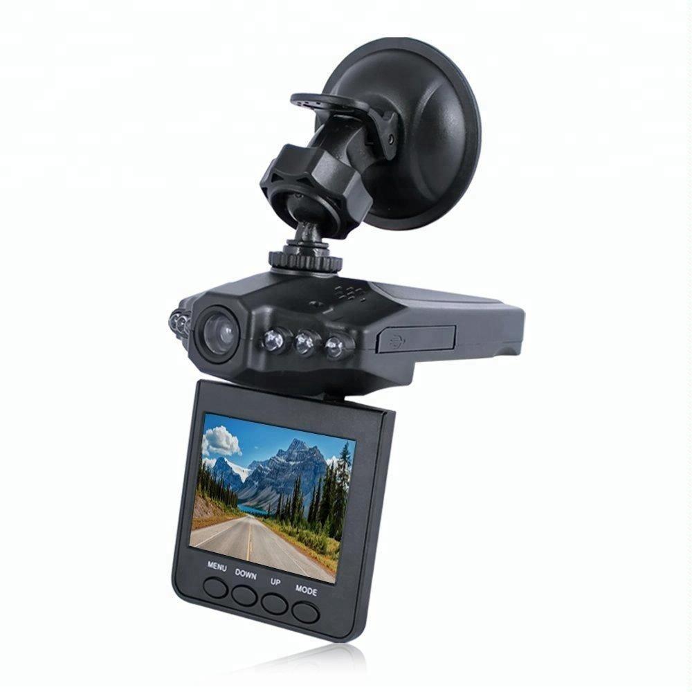 Mini 2.5 inch screen 120 degree looping recorder night vision car dash camera