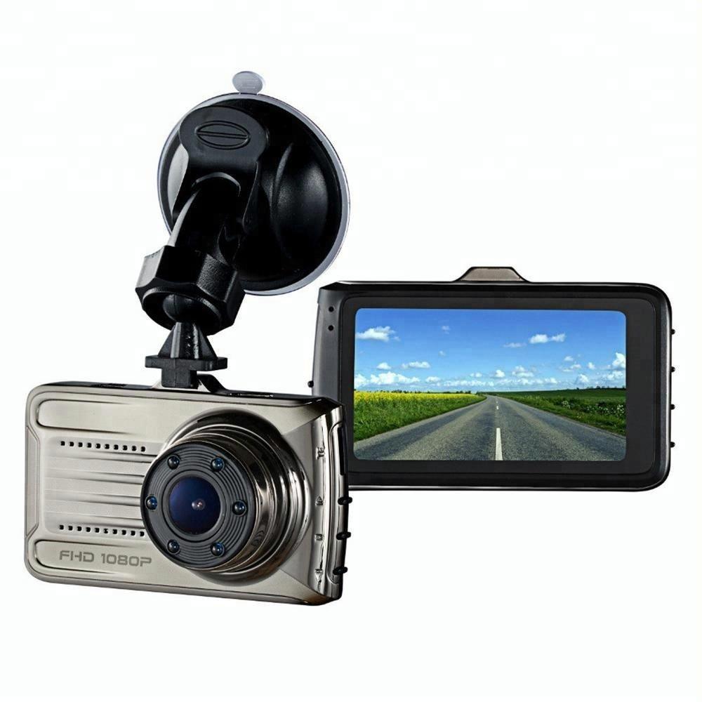 कारों के लिए 3.0 इंच कार कैमरा रिकॉर्डर HD 1080p रात दृष्टि डैशबोर्ड कैमरा