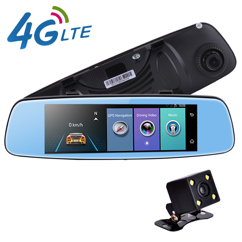 7.84 inch 4G Android 5.1 car gps navigation with wireless rearview camera