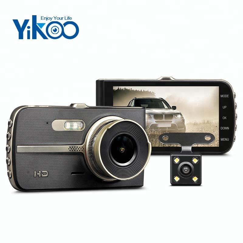 Factory wholesale Professional Action Camera - 4.0 inch full 1080p hd G-sensor night vision car camera dvr dash cam – Yikoo