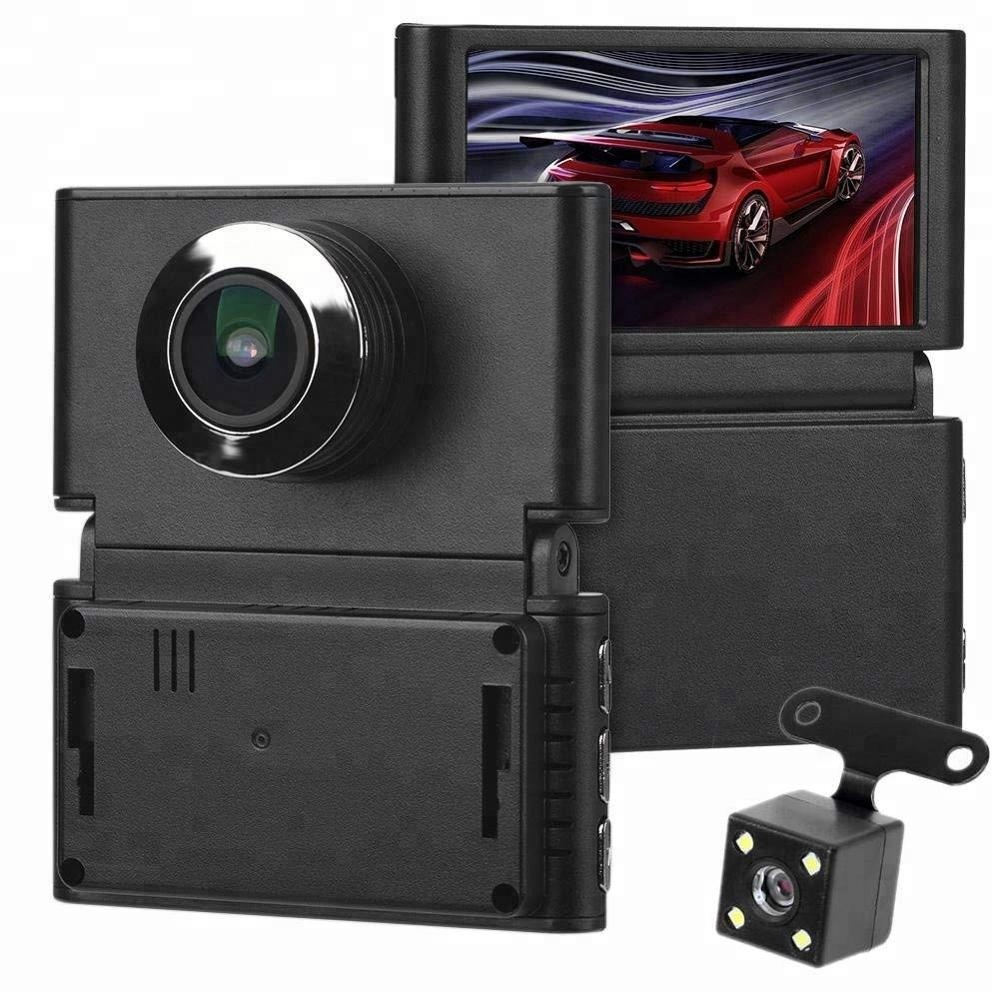 2.45 inch dash cam full hd 1080p car dvr ISO9001 motion detection car recorder