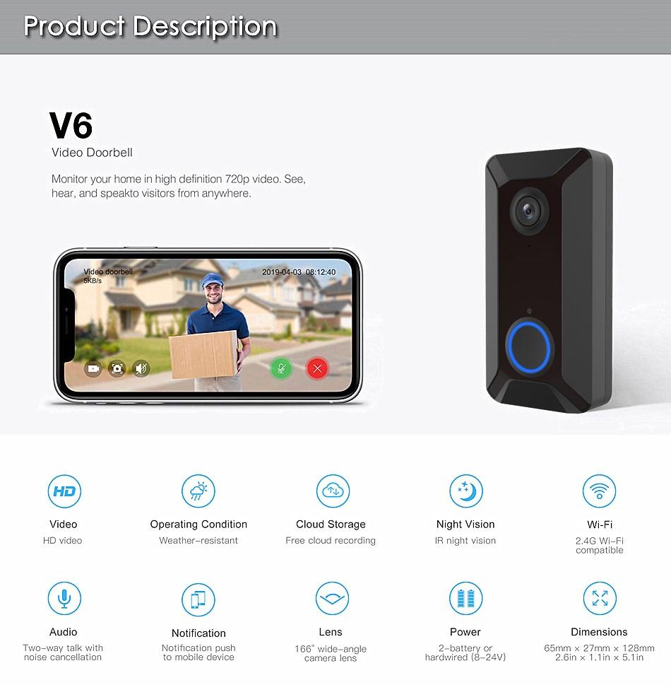 China OEM/ODM Supplier 2019 Home Wireless Door Bell