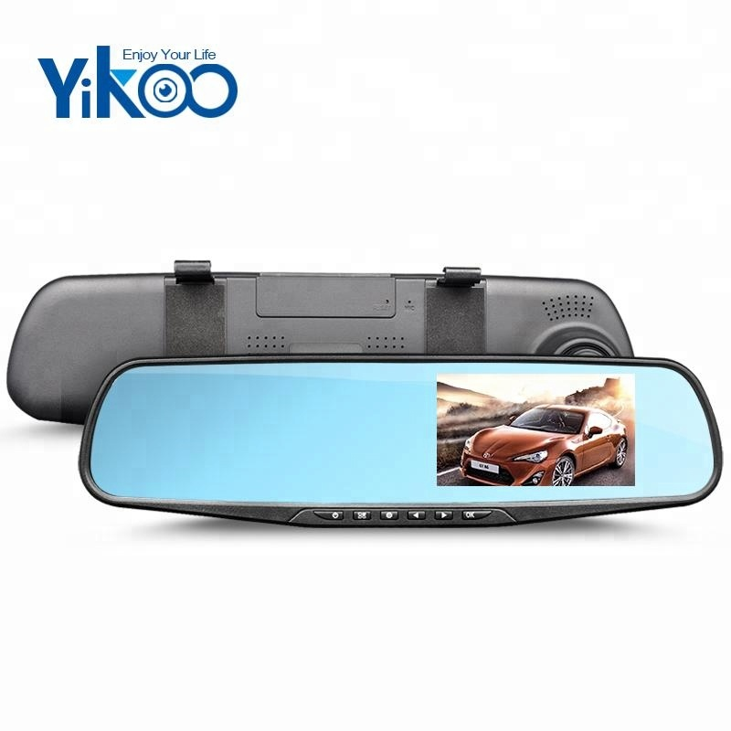 4.3 inch night vision car dvr user manual rearview dual camera car camcorder